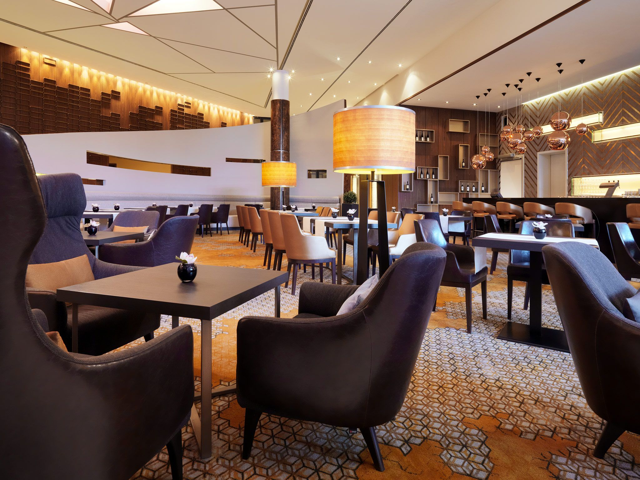 Ellipse Lounge Restaurant im Sheraton Berlin