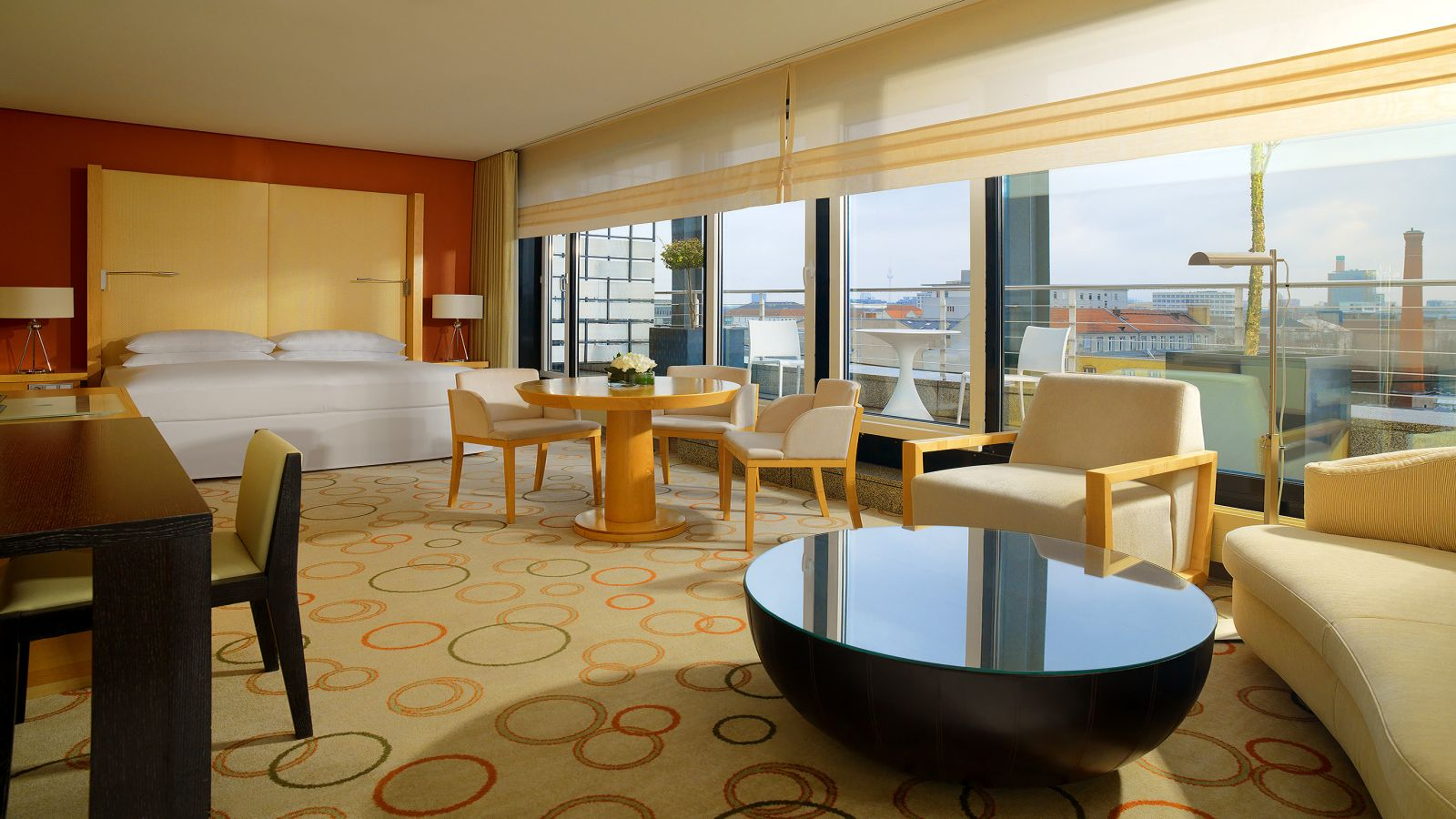 Panorama Suites at Sheraton Berlin Grand Hotel Esplanade