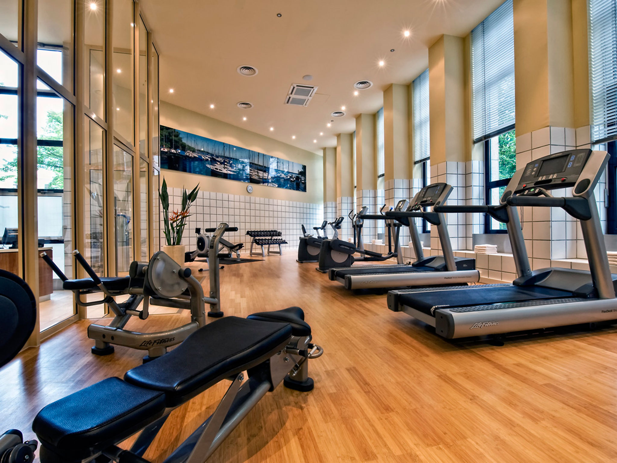 Fitness at Sheraton Berlin Grand Hotel Esplanade
