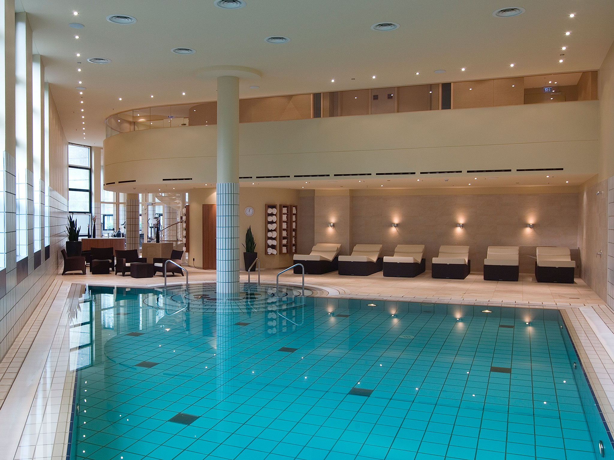 Swimming Pool at Sheraton Berlin Grand Hotel Esplanade